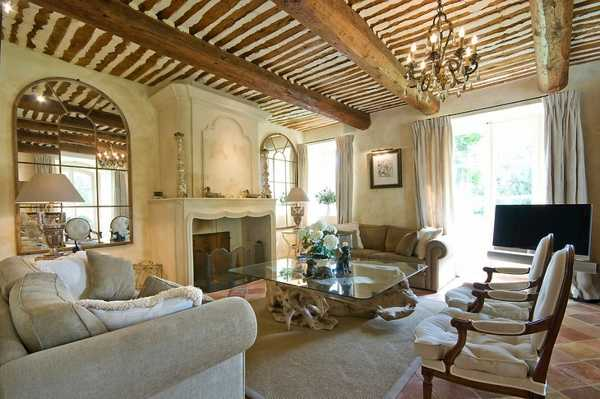 Country home d cor ideas living rural for Home interiors decor